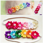 Cute Baby Girl Infant Toddler Colorful Headband Flower Bow Headwear Hair Band