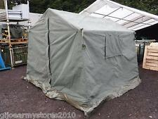 British Army 9x9 Land Rover Canvas Frame Tent DIRECT MOD Garden BBQ Event Stall