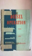 1946 DIESEL OPERATION FUEL AND LUBRICANTS OPERATION MANUAL  BK5