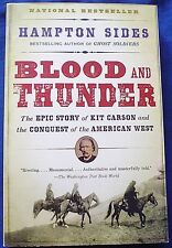 Blood & Thunder--Epic Story of Kit Carson & Conquest of Amer West~Sides~Paper VG