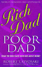 Rich Dad, Poor Dad, By Robert T. Kiyosaki,in Used but Acceptable condition