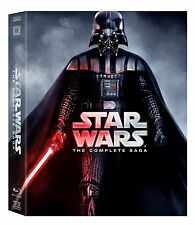 Star Wars:The Complete Saga 9-Disc Blu-Ray Box Set Episodes I - VI
