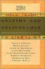 Destiny and Deliverance By John C Maxwell 1998 Hardcover Christianity Moses