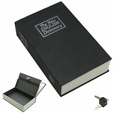 Dictionary Hollow Book Safe Diversion Secret Stash Booksafe Lock & Key Medium BL