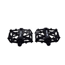 AGPtek Road Bike Pedals BMX Bike Bicycle Cycling Sealed Bearing Pedals Black New