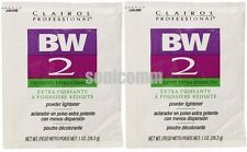 2x Clairol Professional BW2 Dedusted Extra Strength Powder Lightener Hair Bleach