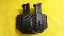 DOUBLE MAG HOLSTER OD GREEN KYDEX BERETTA 92FS 92 FS OWB Outside Waistband