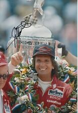 Emerson Fittipaldi Hand Signed 12x8 Photo Indy 500 Winner.