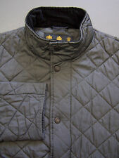 Barbour Chelsea Sportsquilt Jacket Men's Small Grey Padded Quilted Vtg BBS923