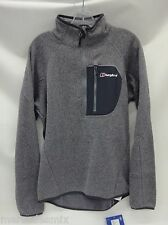 Berghaus Mens Chonzie 1/2 Zip Pullover 421692 Silver Filigree X61 Size Medium