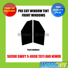 SUZUKI SWIFT 5-DOOR 2011+ FRONT PRE CUT WINDOW TINT