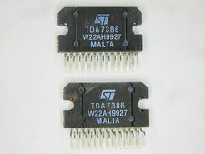 "TDA7386  ""Original"" ST 25P ZIP  IC  2  pcs"