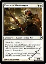 4 Kazandu Blademaster ~ White Zendikar Mtg Magic Uncommon 4x x4