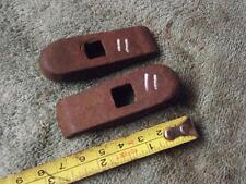"BSA OTHERS VINTAGE CLAMP BRACKETS,, VETERAN  2 1/2"" LONG  11"