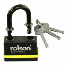 65mm Waterproof Weatherproof Lock Heavy Duty Padlock 3xKeys Security Protection