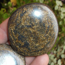 1 x Polished Bronzite Crystal Palmstone - 50mm to 55mm. Ref:(A.BNZ) Crystals