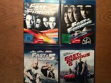 Fast & Furious 1 2  5 6 - Collection [4 BLU RAY ]   Vin Diesel