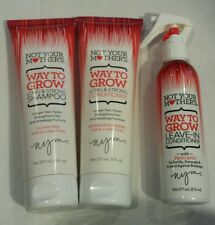 Not Your Mother's - WAY TO GROW LONG & STRONG - Shampoo, Conditioner & Leave-In
