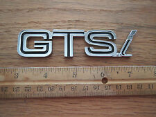 "OEM Ferrari 308 ""GTSI"" GTSI  Metal Emblem Badge Rear Deck 308"