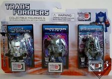 "MEGATRON Transformers 30th Anniversary 1 1/2 "" inch Mini Figure 3-pack 2014"