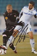 LAUSANNE-SPORT: FABIO CELESTINI SIGNED 6x4 ACTION PHOTO+COA