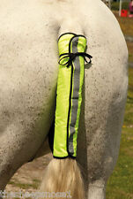Harlequin Reflective High Visibility Horse Riding Tail Guard Hi Viz