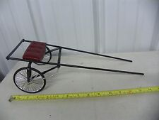 SULKY Pacer Race Cart for Breyer Horses ~ Handmade Custom ~ Burgundy