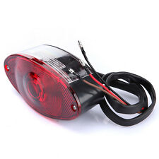Motorcycle UNIVERSAL EYE REAR BRAKE STOP TAIL LIGHT RED FOR Harley Chopper NEW