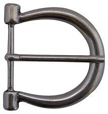 FRONHOFER Boucle de ceinture argent, Fer à cheval boucle 4,5 cm, argentée boucle