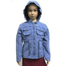 Kids Summer Jacket Infant Boys Girls Coat Hoodie Zip Buttons Thin Warm Windbreak