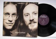 AMERICA - SILENT LETTER / LP / DE 1979 / CAPITOL 064-85 917 / TOP