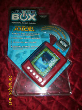 JUICE BOX PERSONAL MEDIA PLAYER RED