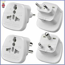 Tech Trader  Universal UK USA EU to 2/3 Pin Pakistan India Travel Plug Adaptor