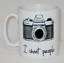 I Shoot People Mug Can Personalise Photography Photographer Funny Camera Gift