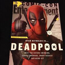 Entertainment Weekly Bonus Issue San Diego Comic Con 2015 Deadpool Ryan Reynolds