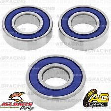 All Balls Rear Wheel Bearings Bearing Kit For Kawasaki KX 125 1981 Motorocross