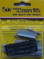CMK 1/72 B-17G Flying Fortress Waist Gunners Compartment Set for Revell # 7