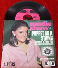 Single Sandie Shaw: Puppet on a string (1967)