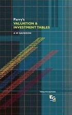 Parry's Valuation and Investment Tables (A College of Estate Management book), V
