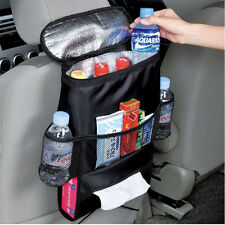Picnic Backpack Car Seat Organizer Insulated Drinks Cooler Travel Storage Bags