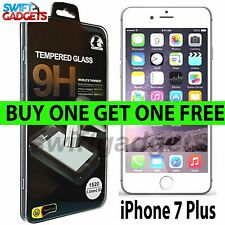 "For New Apple iPhone 7 Plus (5.5"") - Genuine Tempered Glass Screen Protector"