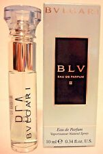 Bvlgari BLV II Eau de Parfum Purse Spray Travel Pocket Size 0.34oz 10ml New