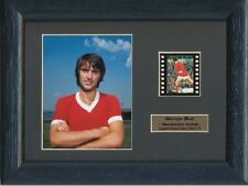 GEORGE BEST FRAMED 35MM FILM CELL GREAT GIFT