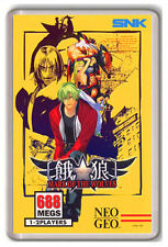 GAROU MARK OF THE WOLVES NEO GEO SNK FRIDGE MAGNET IMAN NEVERA