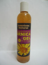 8 Oz ARNICA MONTANA GEL PAIN RELIEF BRUISES MUSCLE ACHES NATURAL Moisturizing