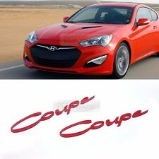 Side Front Trunk Mini Emblem Point Logo Badge for HYUNDAI 09 - 16 Genesis Coupe