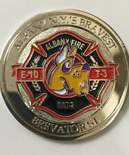 Albany, NY Fire Department Brevator St. House Challenge Coin