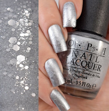OPI Starlight BY THE LIGHT OF THE MOON Silver Glitter Nail Polish Lacquer G41