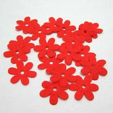 100PCS Padded Felt Spring Flower Appliques Craft DIY Wedding decoration making