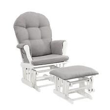 Glider Chair And Ottoman Nursery Rocking Furniture Baby Rocker Set